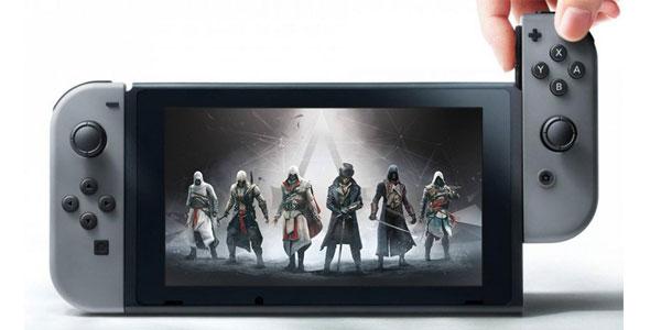 小道消息:Switch《刺客信条》预计明年3月发售
