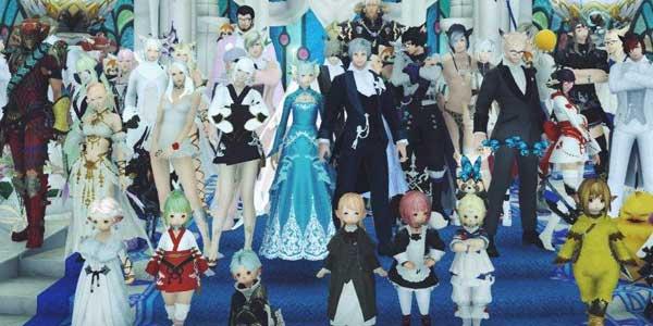 日本现在可以预订最终幻想14主题的婚礼