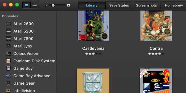 使用OpenEmu在macOS系统玩模拟游戏