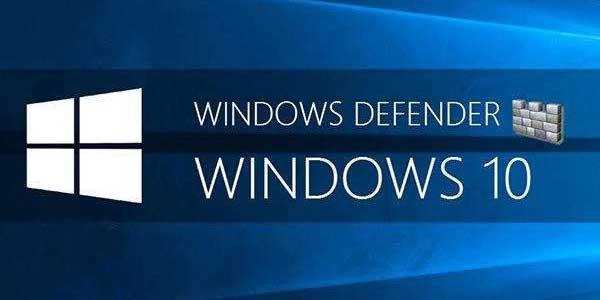 在命令提示符下使用Windows Defender